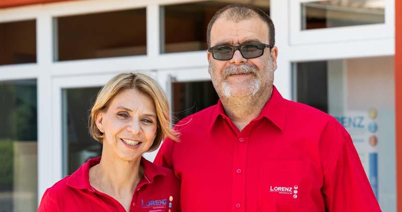 Gaby Lorenz und Christian Lorenz